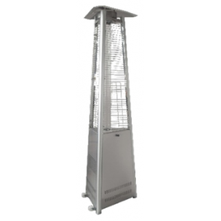 PYRAMID HEATER STAINLESS STEEL TRIANGULAR POS0006