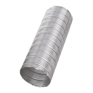 SEMI-RIGID ALUMINUM FLEXIBLE DUCT 4'' (3MTR)