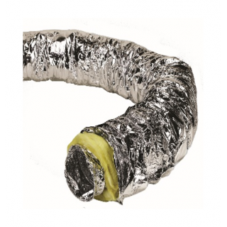 INSULATED FLEXIBLE DUCT 4''