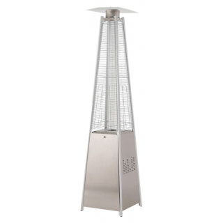 PYRAMID HEATER STAINLESS STEEL POS0002