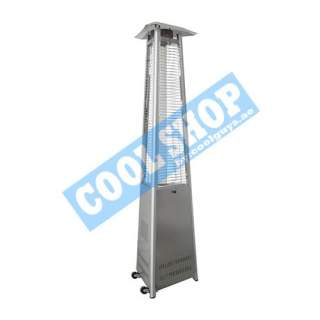 PYRAMID PATIO HEATER (SS TRIANGULAR)