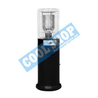 CIRCLE PATIO HEATER (BLACK STAND ROUND FLAME)